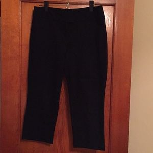 Black Capris from The Limited